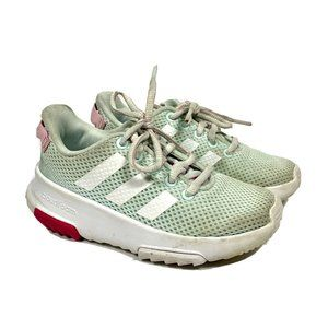 Adidas Cloudfoam Girl's Sneakers Mint Size 11